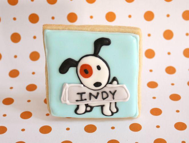 Jillbeths Cookie Studio Custom Decorated Cookie: love this cute puppy!