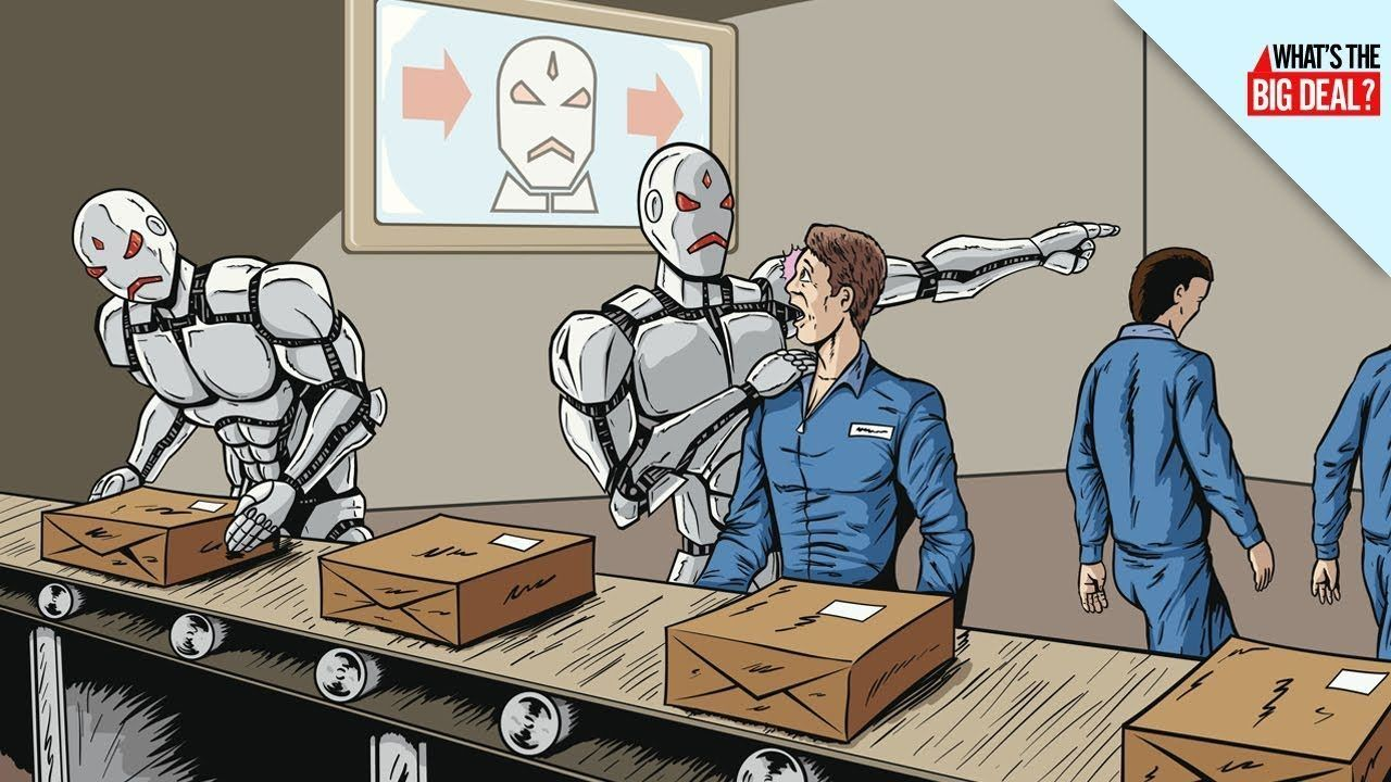 Robots Taking Jobs, Should People Worry? - https://movietvtechgeeks.com/robots-taking-jobs-should-people-worry/-Robots will soon take over the world and it's not because of Skynet. There could eventually come a time when many menial jobs will be taken over by robots, anthropomorphic or otherwise.