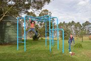 Bushman Cubby House Kids Playground Equipment by CubbyKraft