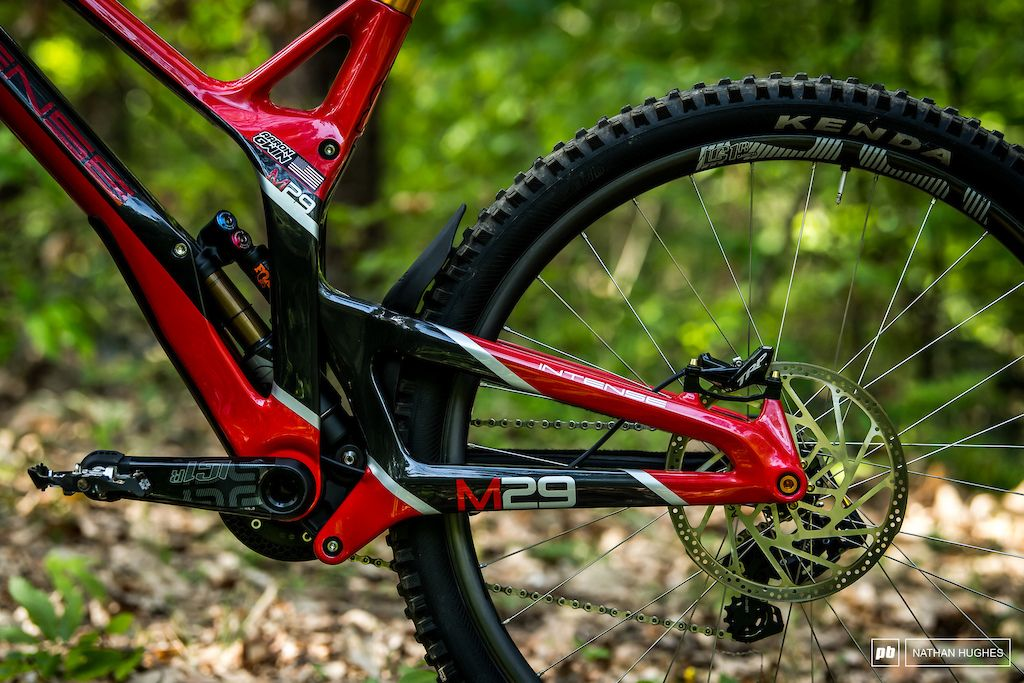 Bike Check Aaron Gwin S Intense M29 Maribor Dh World Cup 2019