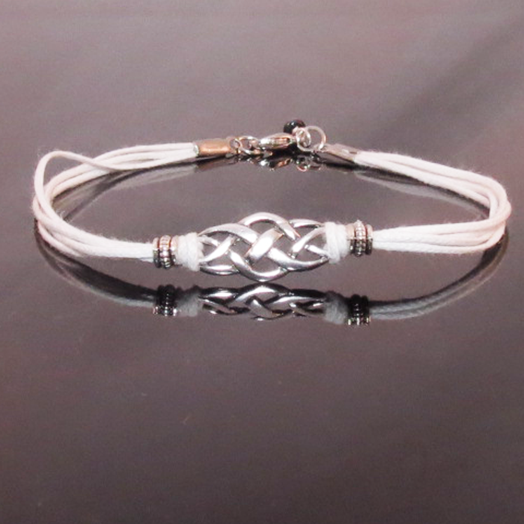 Sterling Silver Celtic Knot Bracelet Bangle Senach Jewelry Scottish Thistle Bone Of My Coin Pendant Dragonfly In