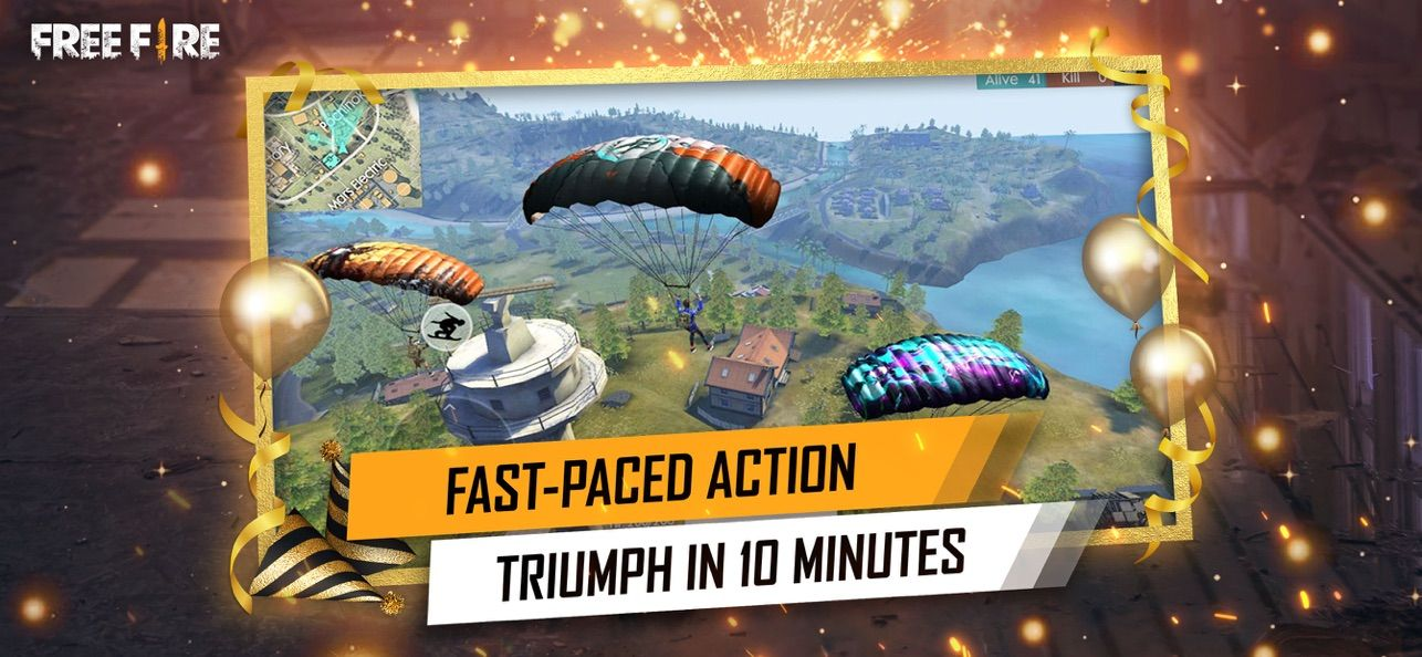 ‎Garena Free Fire Anniversary on the App Store Free