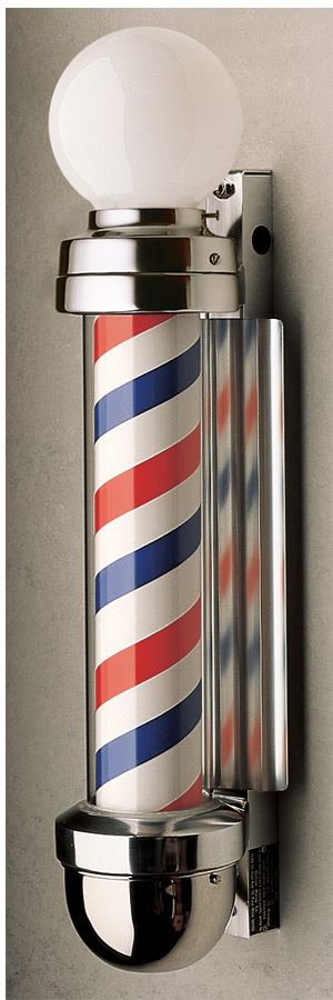 Marvy Barber Pole 405 (2 Lights) Barber pole, Barber