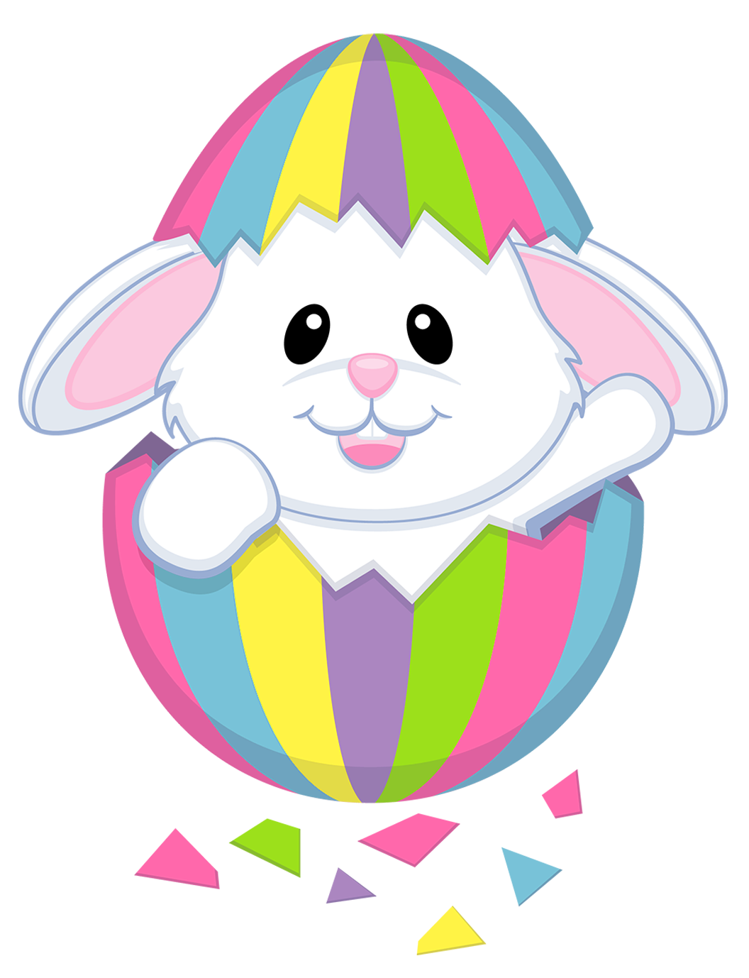 easter bunny clipart best easter eggs pinterest easter bunny rh pinterest com clipart easter egg hunt clipart easter eggs