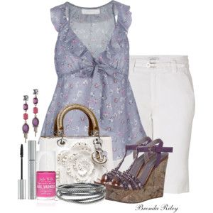 Dior White Bag