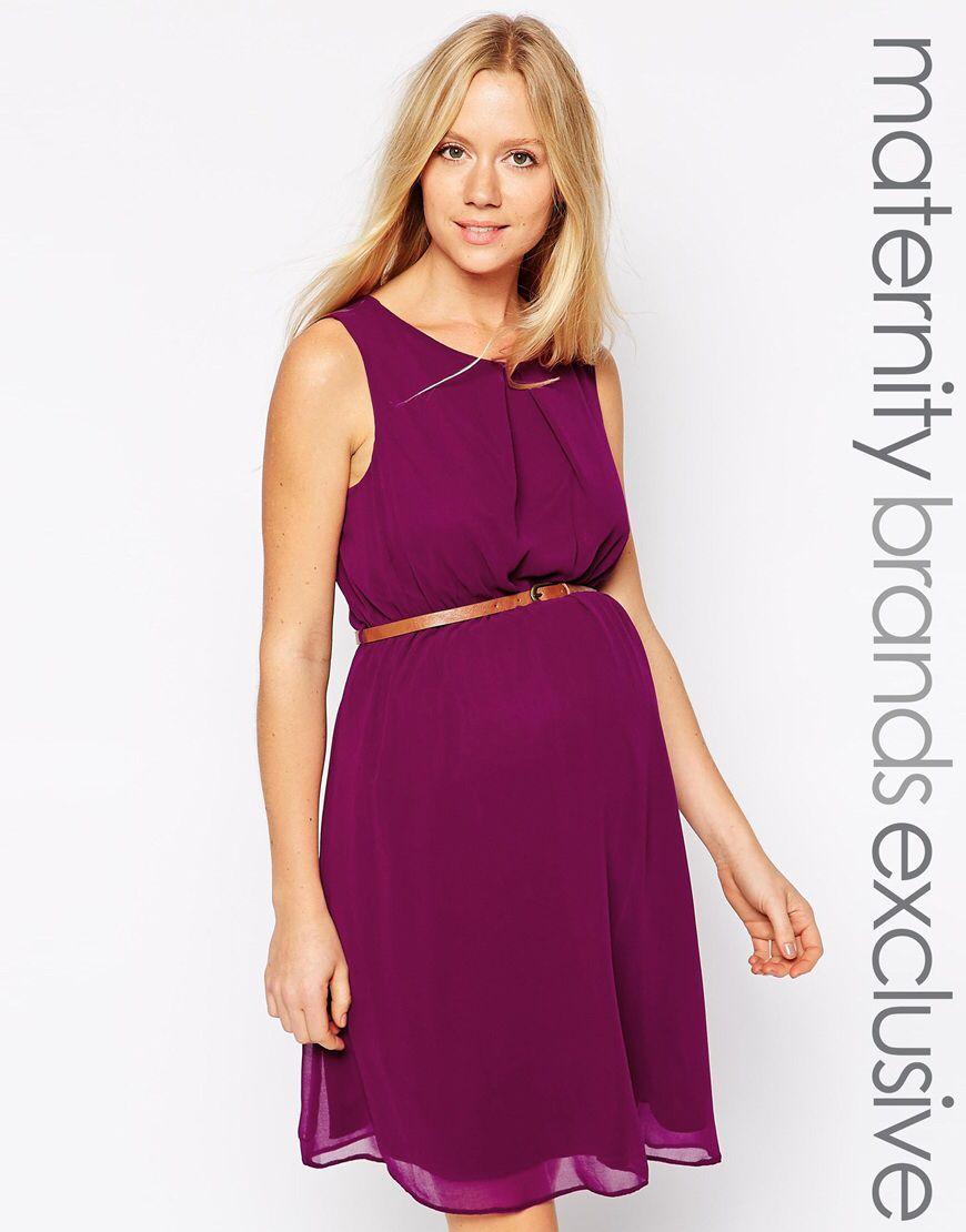 New Look Maternity Chiffon Waisted Dress | Pinterest | Embarazo y ...