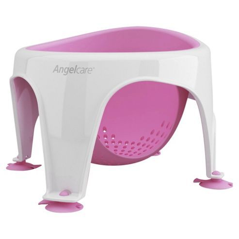 Angelcare Baby Bath Seat, Pink | Baby bath seat, Bath seats and Babies