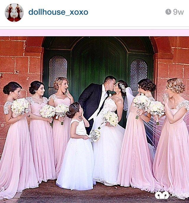 Dollhouse Xoxo Australia Nicole S Wedding Pinterest Bridesmaid