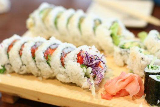 recetas sushi vegetariano