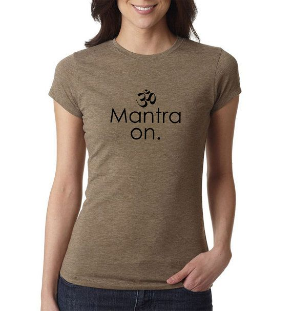 Meditación Shirt Camisa de Mantra Yoga Yoga superior a4c5a3cdb4b6