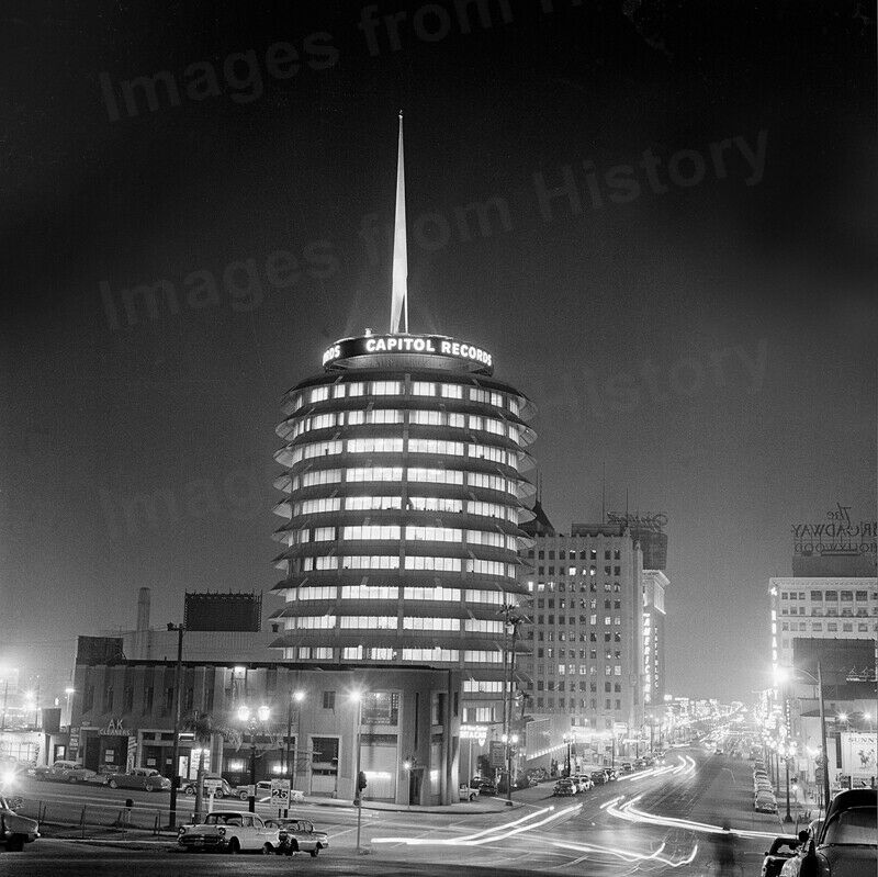 8x10 Print Capitol Records 1750 Vine Street Los Angeles Ca 90028 1950 S Crab Ebay In 2020 Los Angeles Architecture Capitol Records Los Angeles
