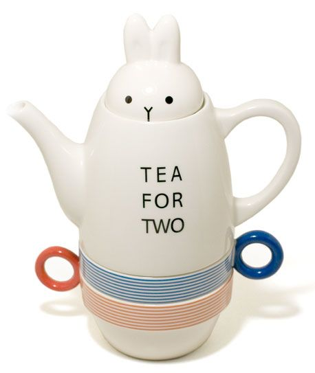 Whimsical teapot (who says tea needs to be serious and grown-up?)