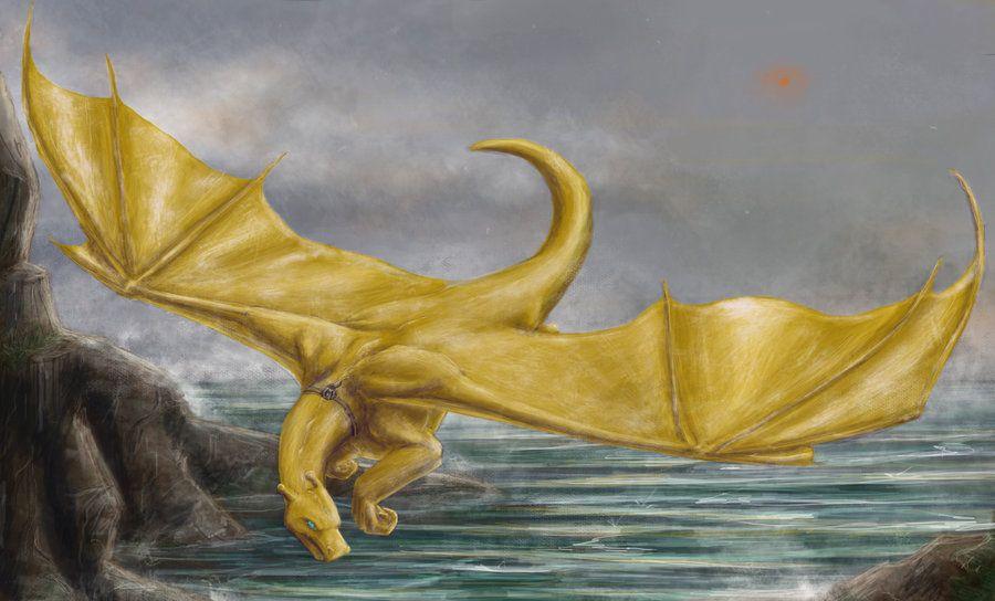 dragonriders of pern gold dragon
