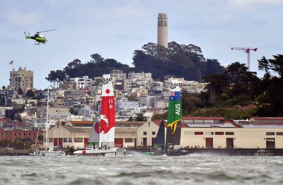 Australia wins SailGP event on San Francisco Bay San