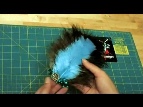 How-to Make a Feather Head Piece, Threadbanger SOOOOO EASY!!! and AMAZING!!! AHHHHH!!!!!! yes I am THAT excited about this tutorial!