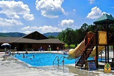 Lake Fort Smith State Park - Boston Mountain Range - Ozark Mountains - Arkansas State Parks...cabins available during weekdays in July, no lake swimming, but boat rentals