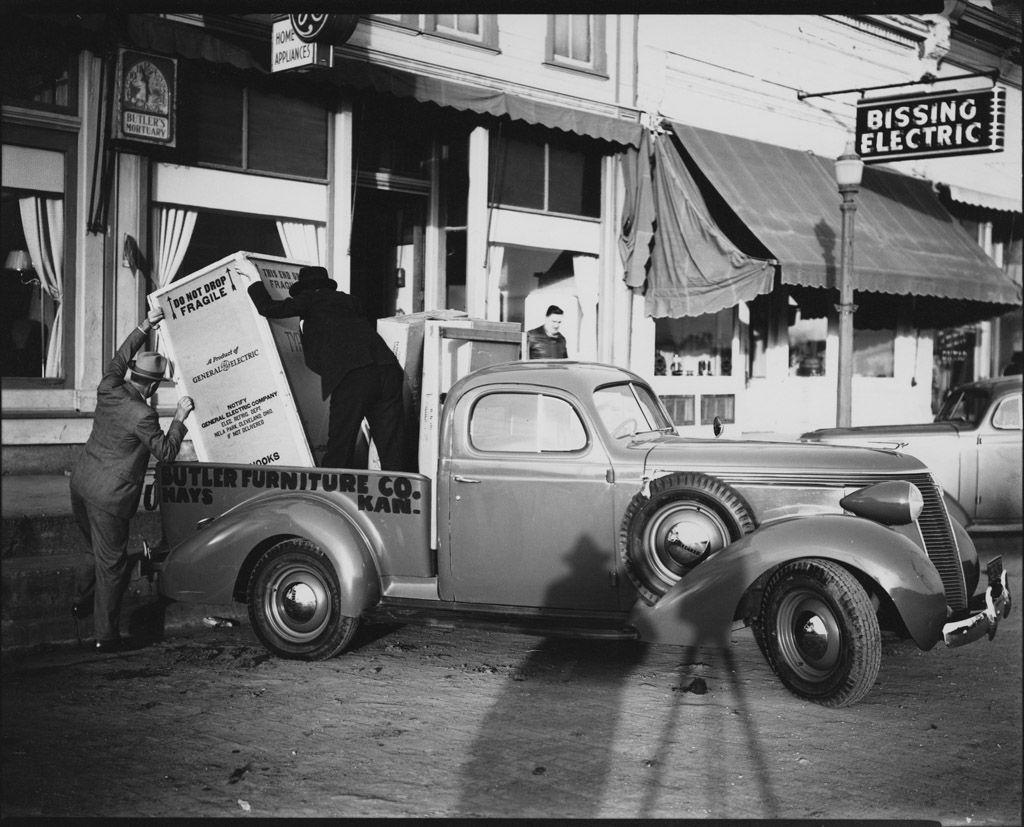 Bulter Furniture Co. 1937 Hays kansas, Historical