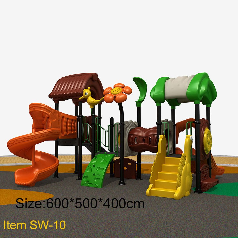 flower and bird accessories small outdoor playground equipment for