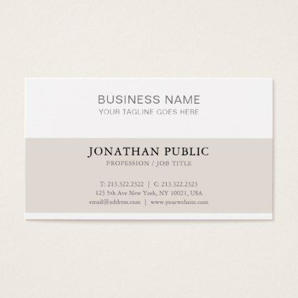 Sophisticated simple modern plain trendy luxury business card sophisticated simple modern plain trendy luxury business card luxury business cards reheart Images