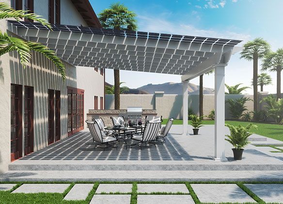 Solar Haven Canopy | NRG Home Solar