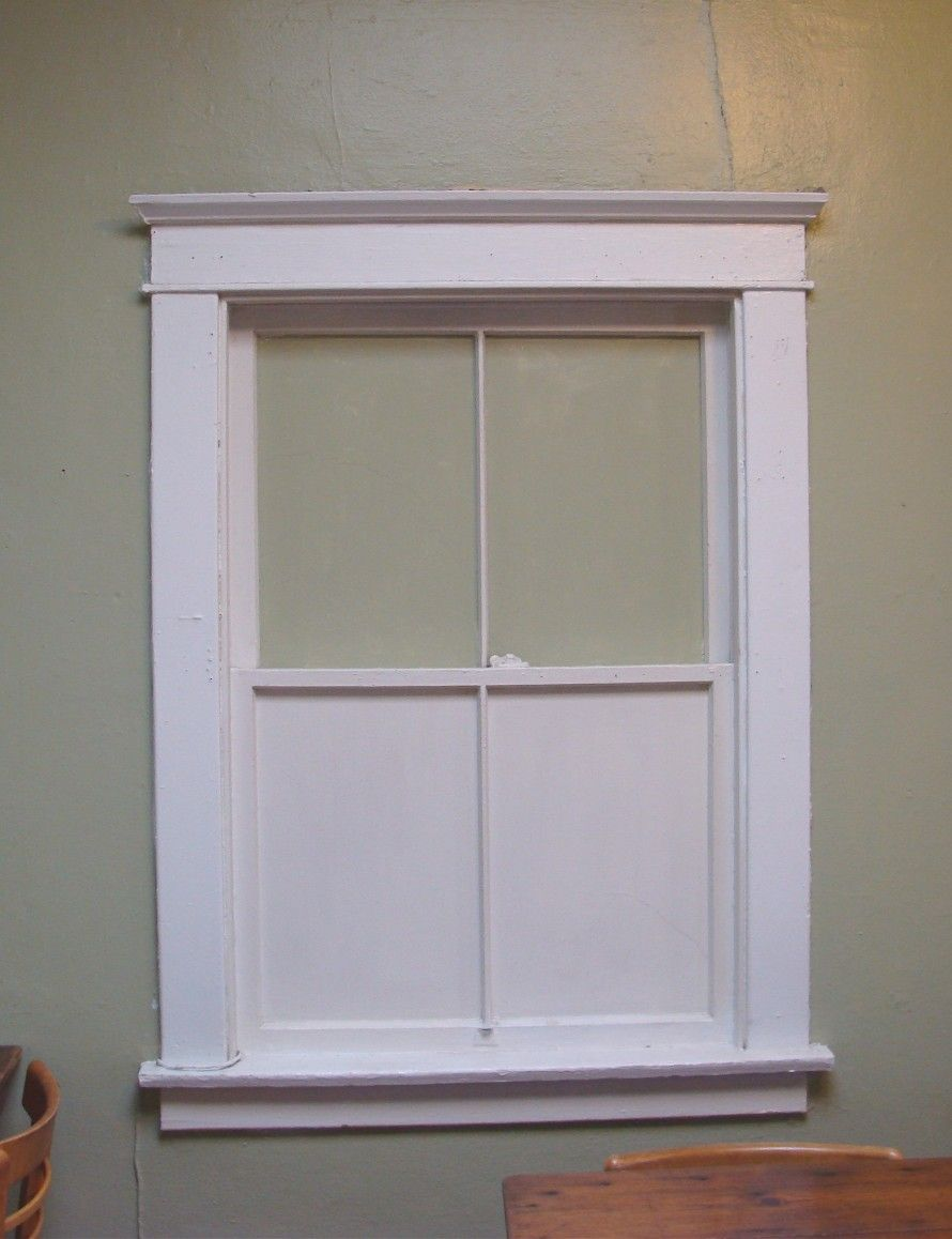 Bathroom Window Molding interior window trim ideas | craftsman-style-window-trim-tucson