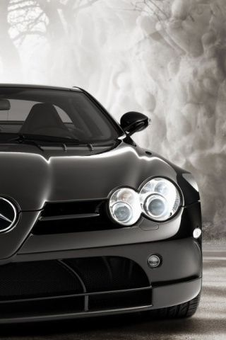 Mercedes Slr Mclaren Iphone Wallpaper Background And Theme