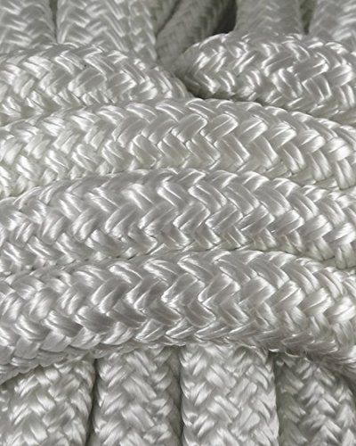 9/16 in X 600 ft White Polyester Double Braided Rope -- Read more reviews of the product by visiting the link on the image.