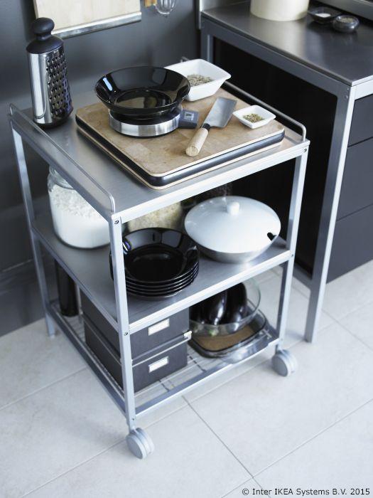 Prostor u kuhinji možeš uštedjeti organizacijom kuhinjskih - udden küche ikea