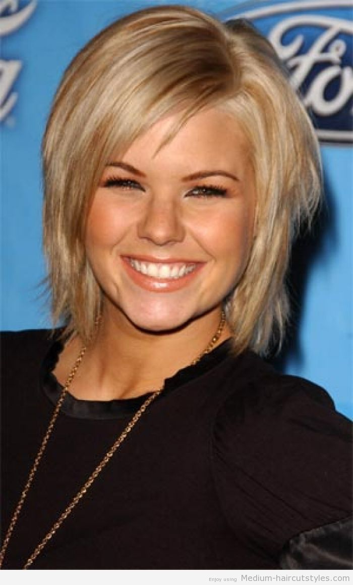 Medium Length Bob Hairstyles For Fine Hair Prepossessing Medium Hairstyles For Fine Hair Layered 2  Włosy  Pinterest