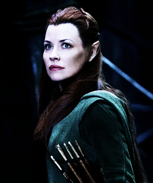 Evangeline Lily as Tauriel