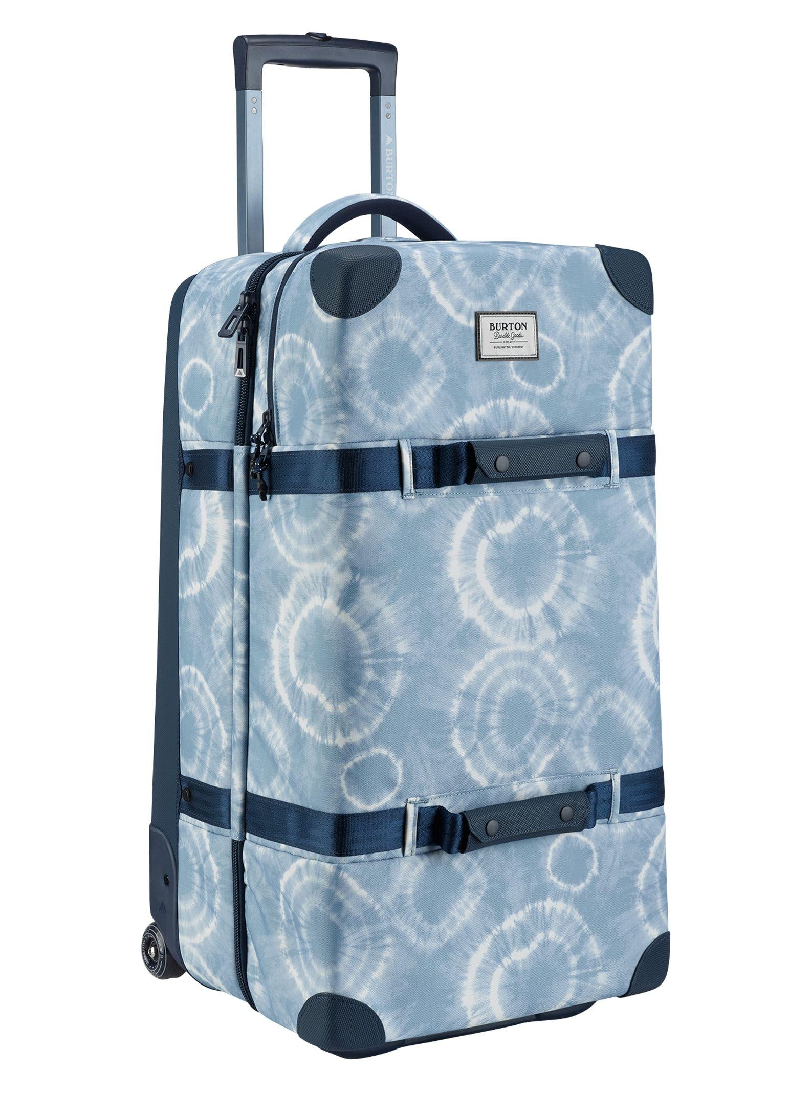 Burton Men S Wheelie Double Deck Travel Bag Grateful Shibori Ballistic Double Deck Travel Bag Burton Mens