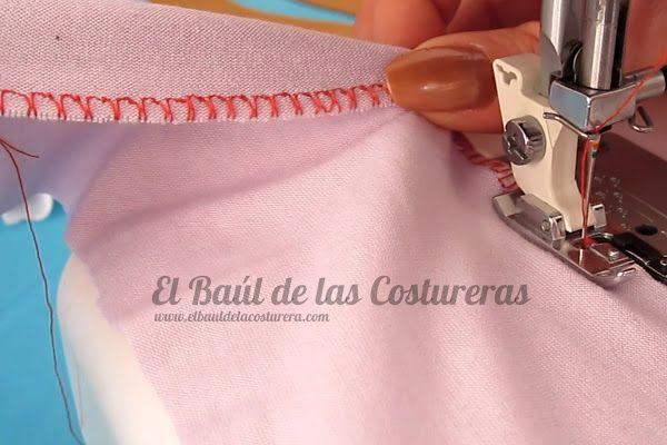 Coser telas elásticas con máquina casera | Costura