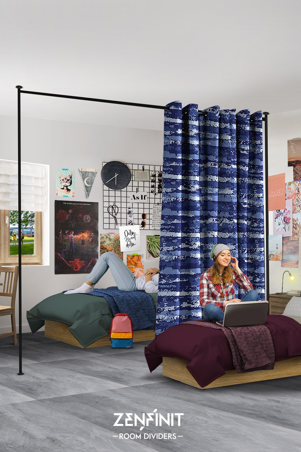 Take Your Dorm Room To The Next Level With The Zenfinit Room