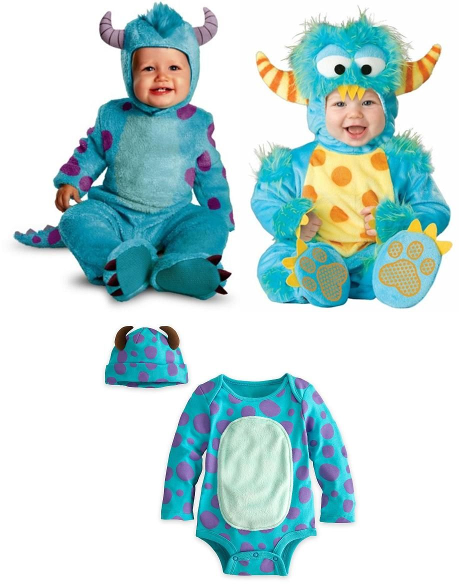 James P Sullivan Costume - Baby Sully Costume  sc 1 st  Pinterest : baby sully costume  - Germanpascual.Com