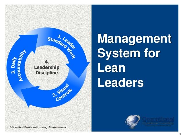 Pin By Operational Excellence Consulting On Lean Thinking