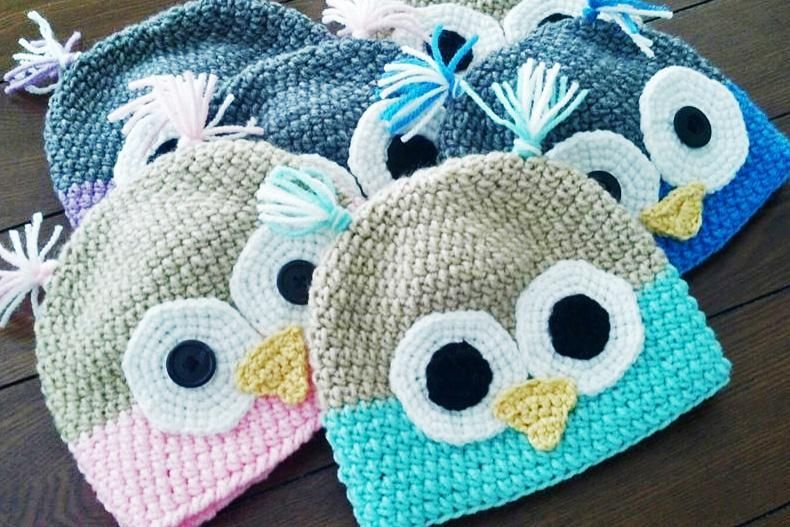 Famous Crochet Owl Hat Pattern Free Ideas Knitting Pattern Ideas