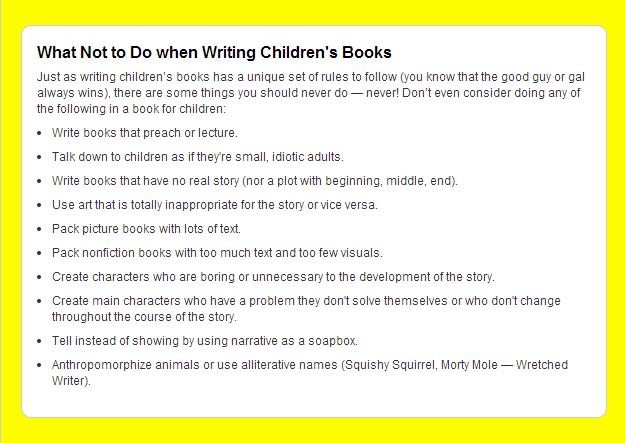 Writing Children S Books A Cheat Sheet Writers Write Writing Childrens Books Writing Kids Books Childrens Books
