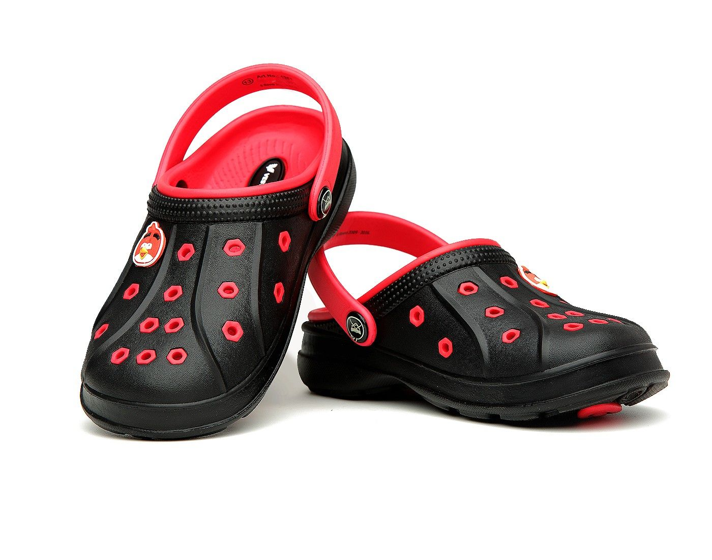 angry bird 4961 kids black clog (With images) | Kid shoes ...