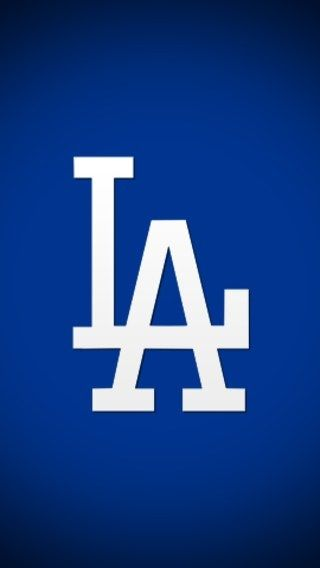 Iphone Wallpaper Los Angeles Dodgers Logo Los Angeles Dodgers Dodgers