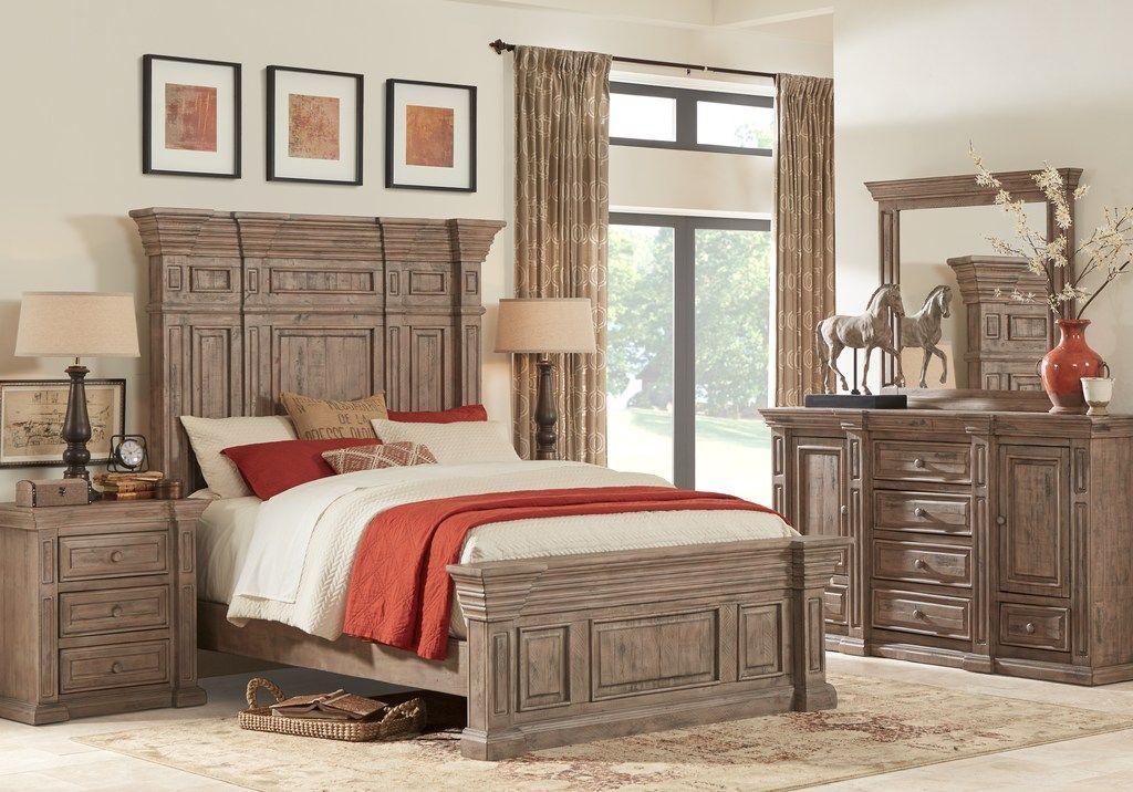 Pine Manor Pine 5 Pc Queen Panel Bedroom Queen Bedroom Sets King Size Bedroom Furniture Sets King Bedroom Sets Bedroom Sets
