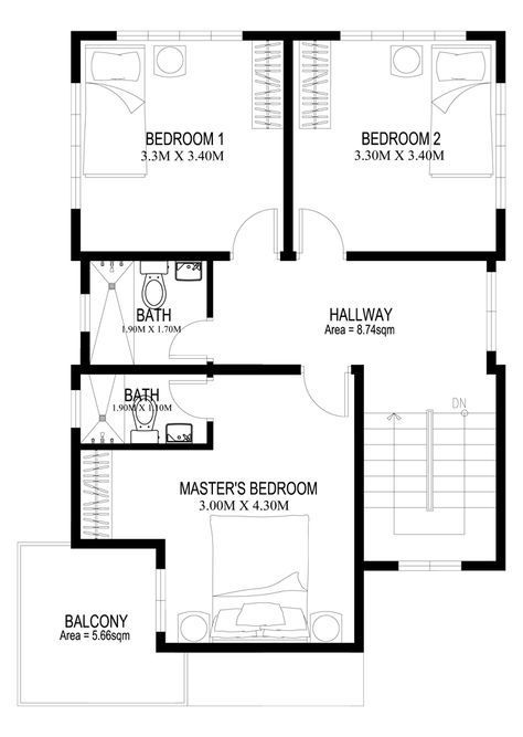 Two houseplans second floor plan double story house also best blueprints images in rh pinterest