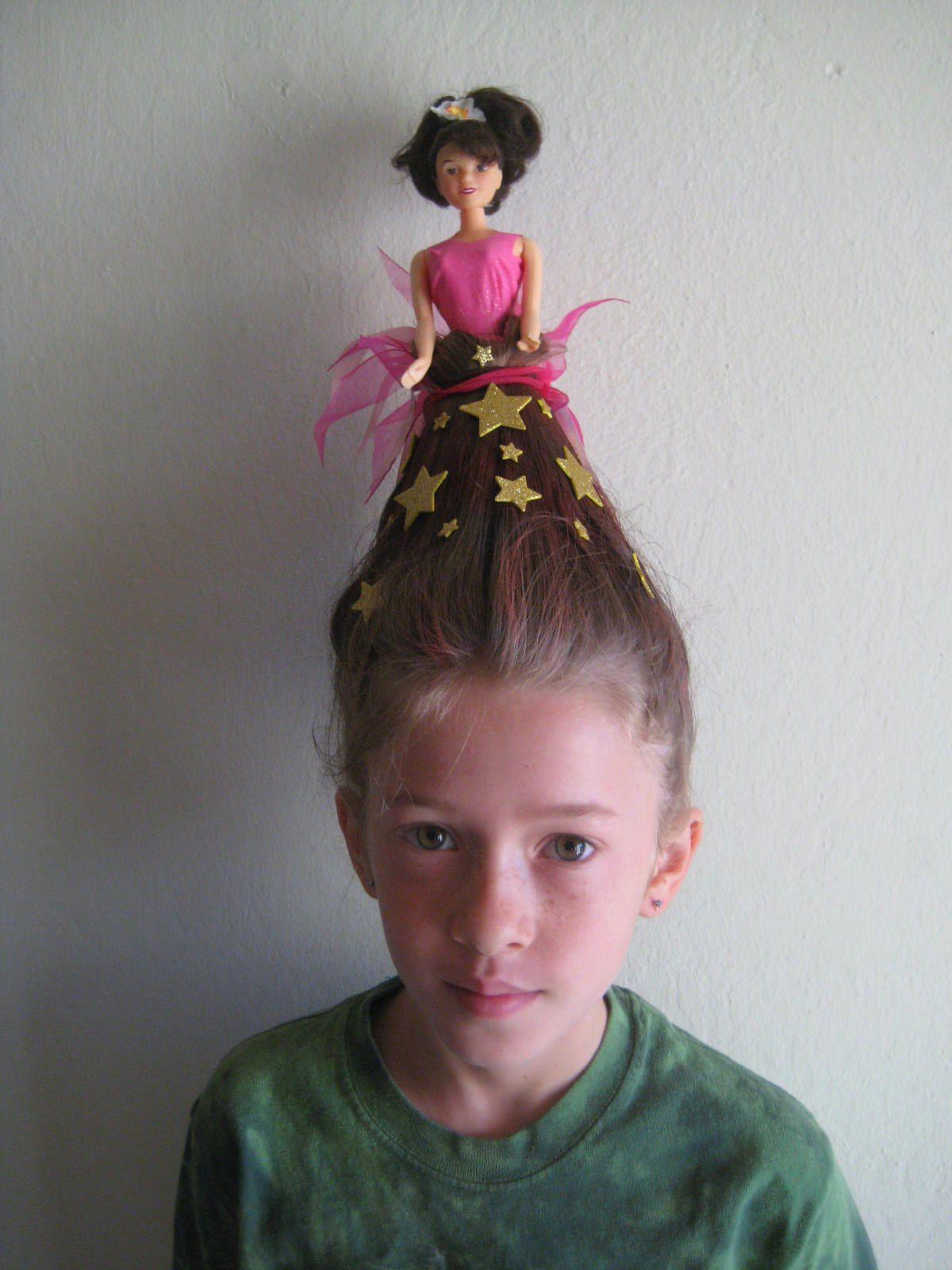 Hermoso peinados raros mujer Fotos de tendencias de color de pelo - Image result for crazy hair day | Wacky hair, Wacky hair ...