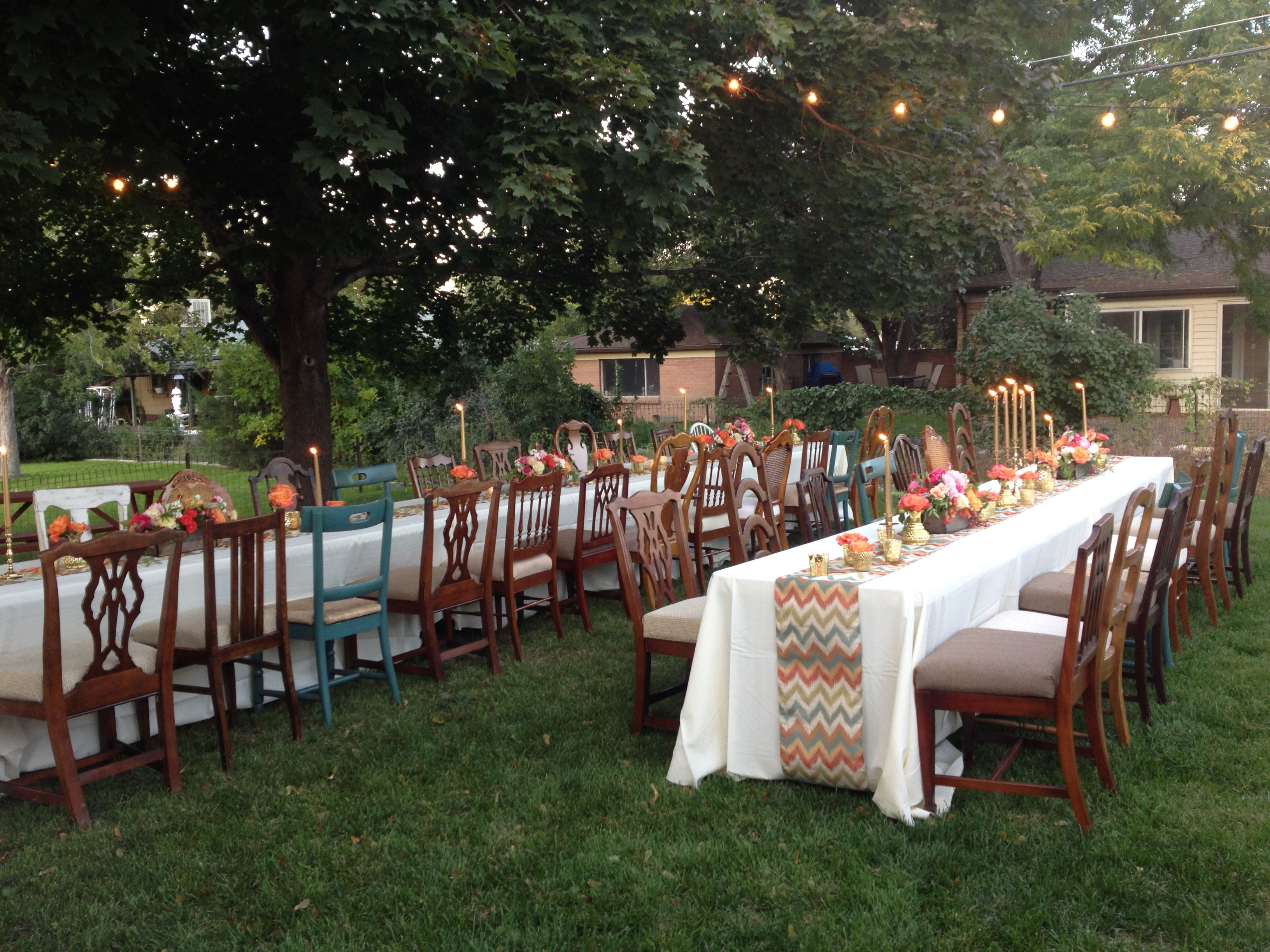 brownchairs party jpg 3264 2448 wedding ideas pinterest