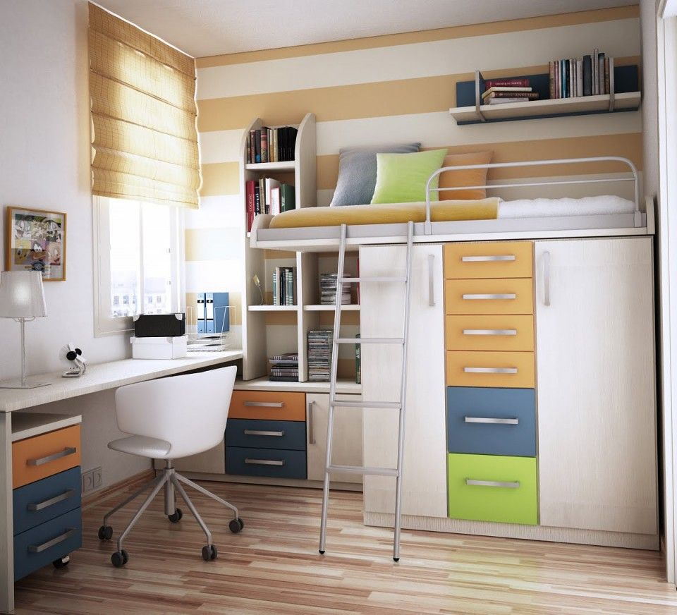 Loft bed plans with desk and shelves  White Bunk Bed With Desk And Storage Also White Swivel Chair Under