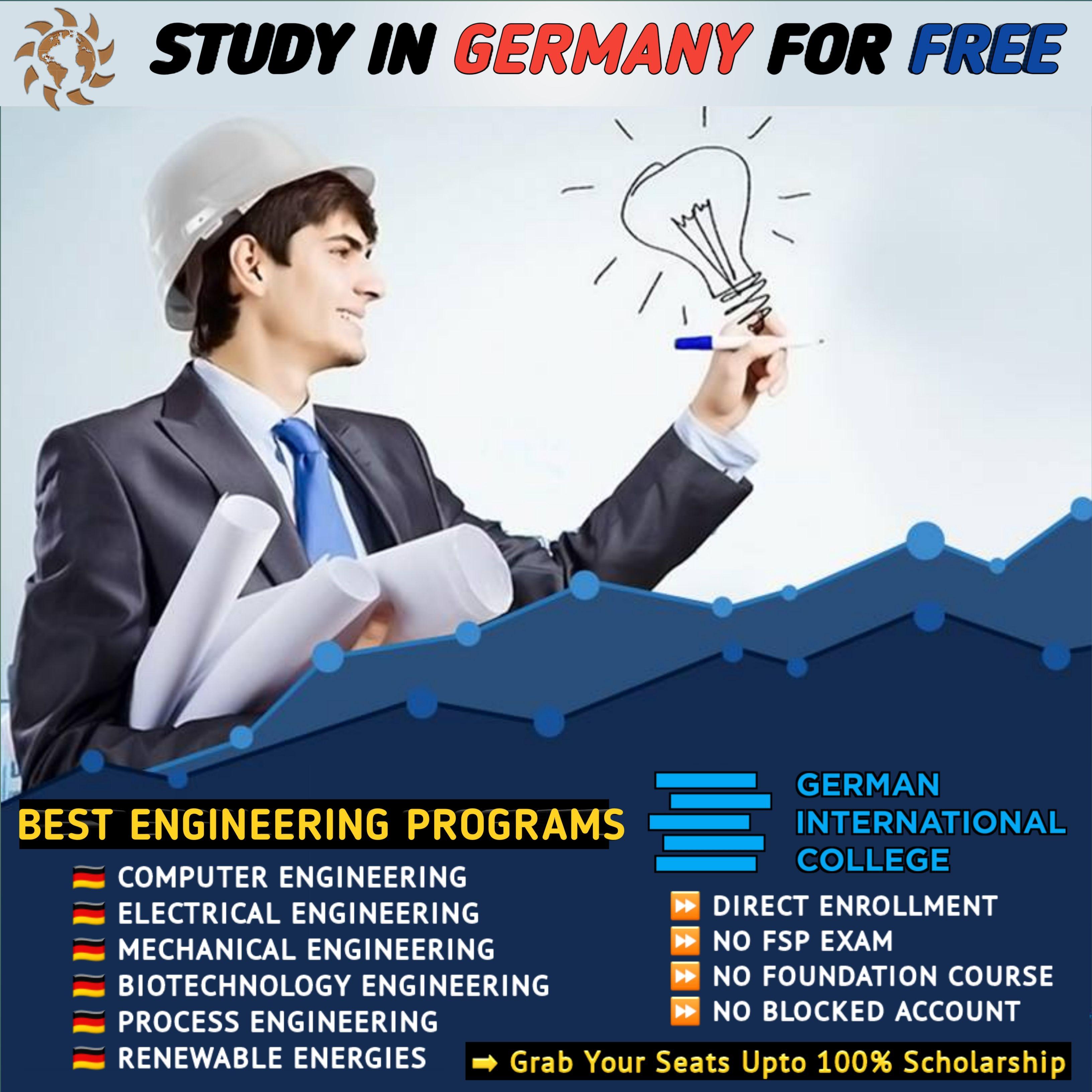 Study Engineering In Germany Engineering Programs Germany Health Heal