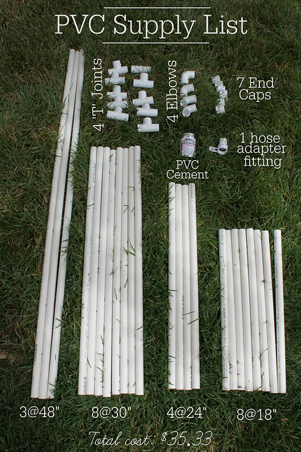 PVC Projects To Keep Your Kids Cool This Summer The Home Depot - Best diy pipe project ideas for kids