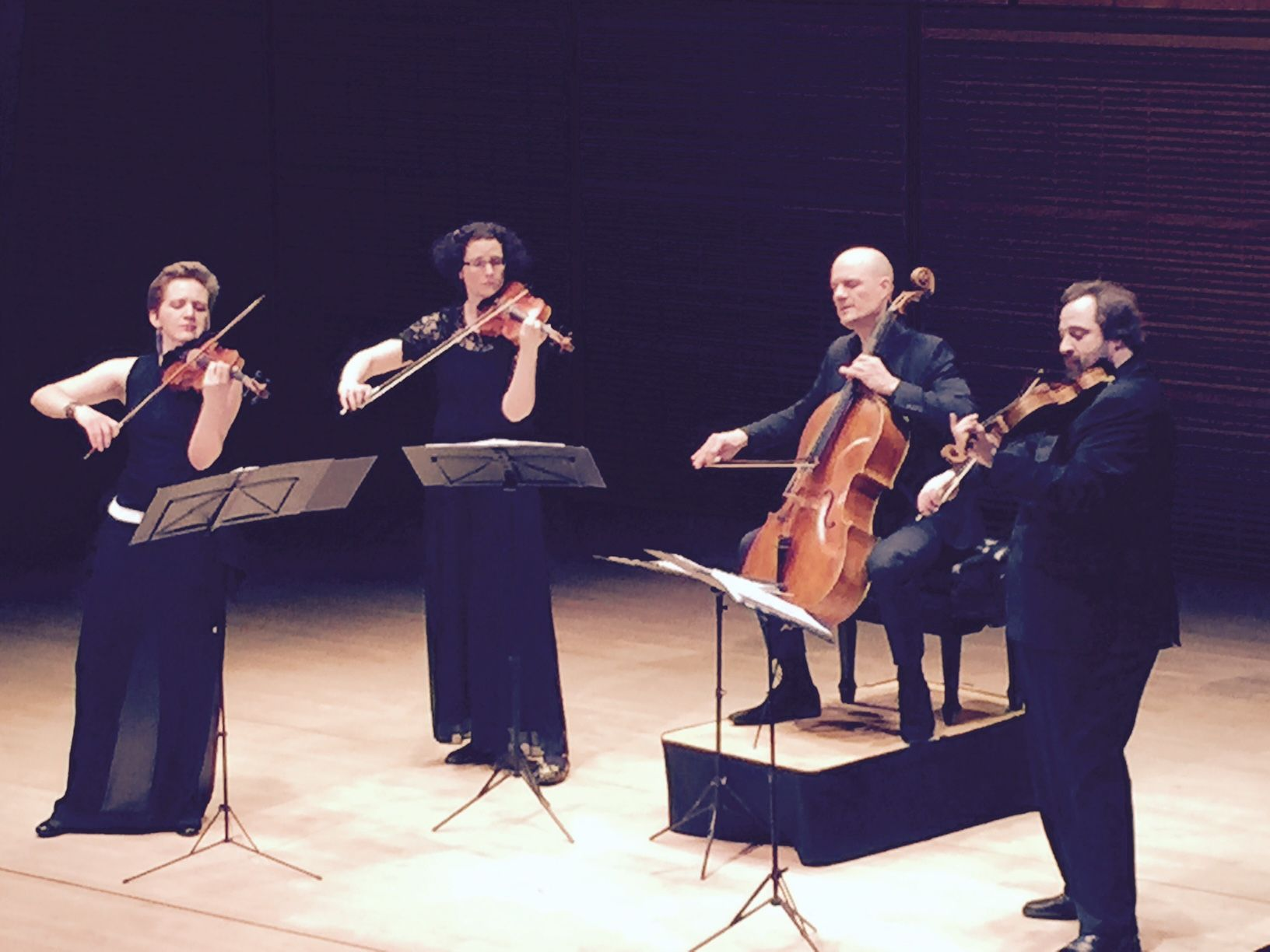 My Magnificent Violinist Niece Anthea Kreston With The Artemis Quartet 4 17 16 At Carnegie Hall Fantastic Performance Violinist General Music Carnegie Hall