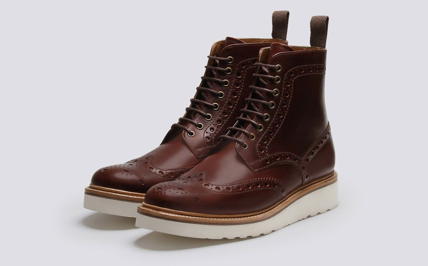 f246233c283 Fred in 2019 | The Bungalow | Mens brogue boots, Grenson shoes, Boots