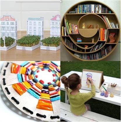 Cardboard Box Ships Cardboard Ideas Cardboard Box Crafts Box