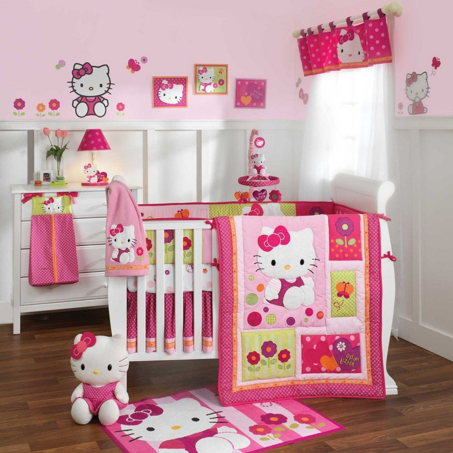 Hello Kitty Bedroom Is One Of The Most Popular Interior Theme For
